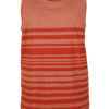 Stripe Beater - burnt orange